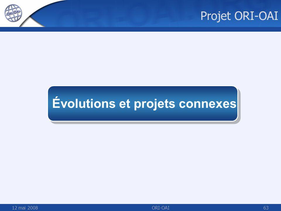Évolutions et projets connexes