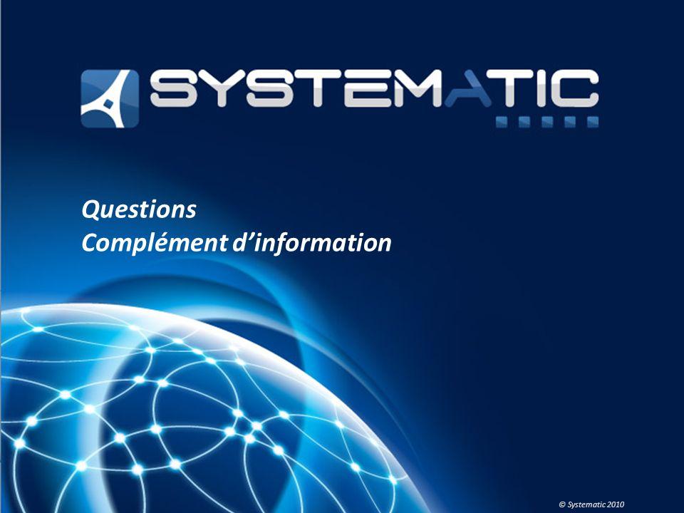 Questions Complément d'information