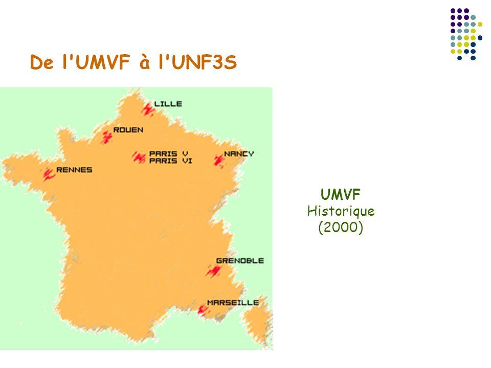 De l UMVF à l UNF3S UMVF Historique (2000)