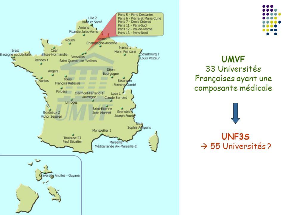 33 Universités Françaises ayant une
