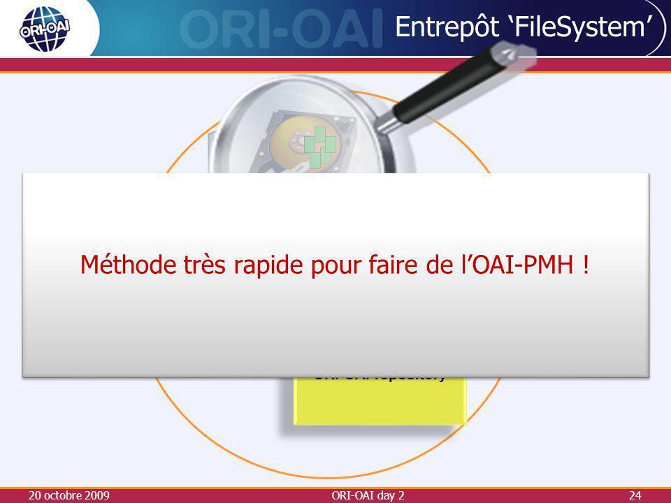 Entrepôt 'FileSystem'