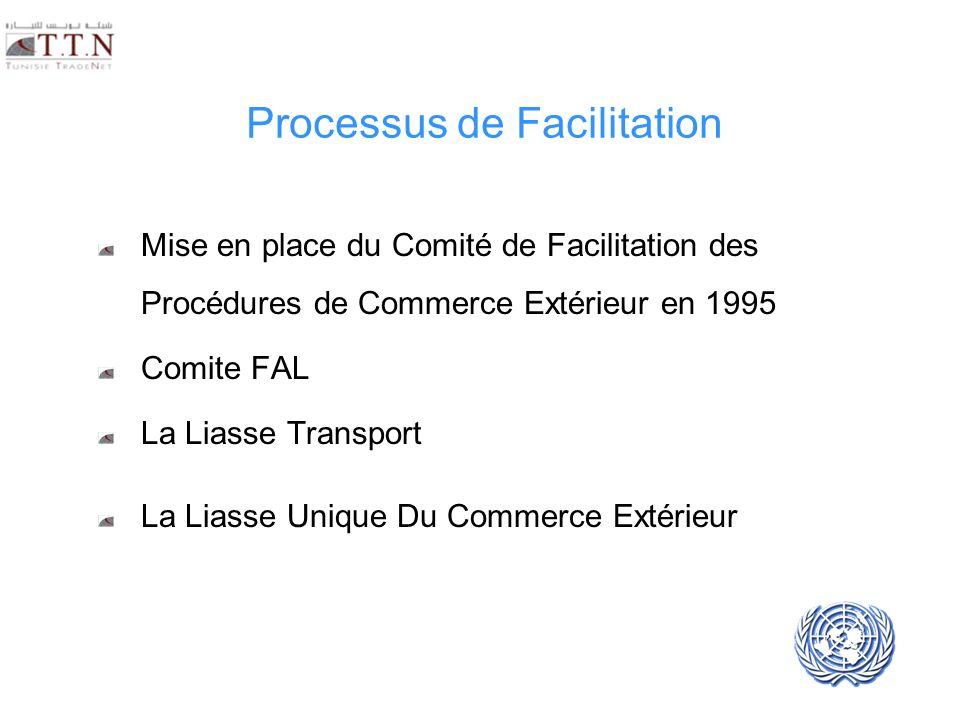Processus de Facilitation
