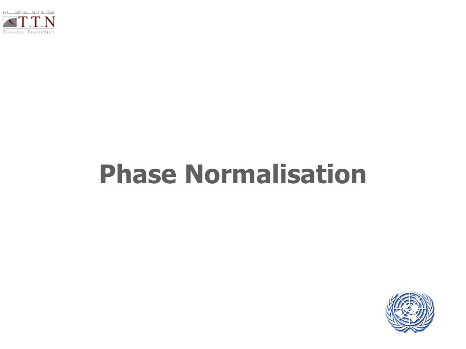 Phase Normalisation