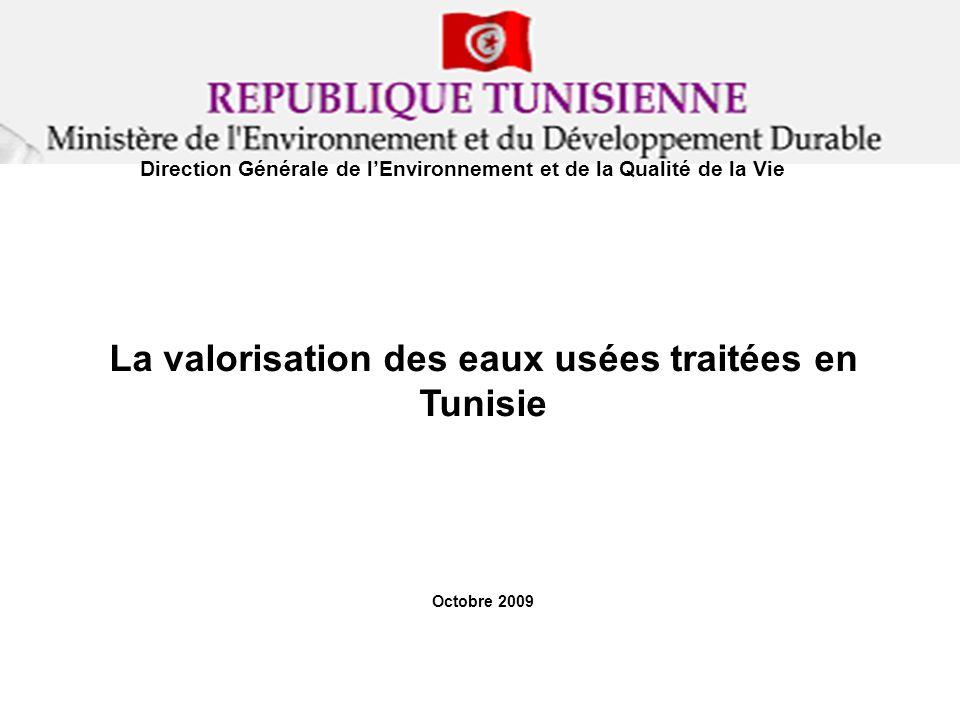 La valorisation des eaux usées traitées en Tunisie