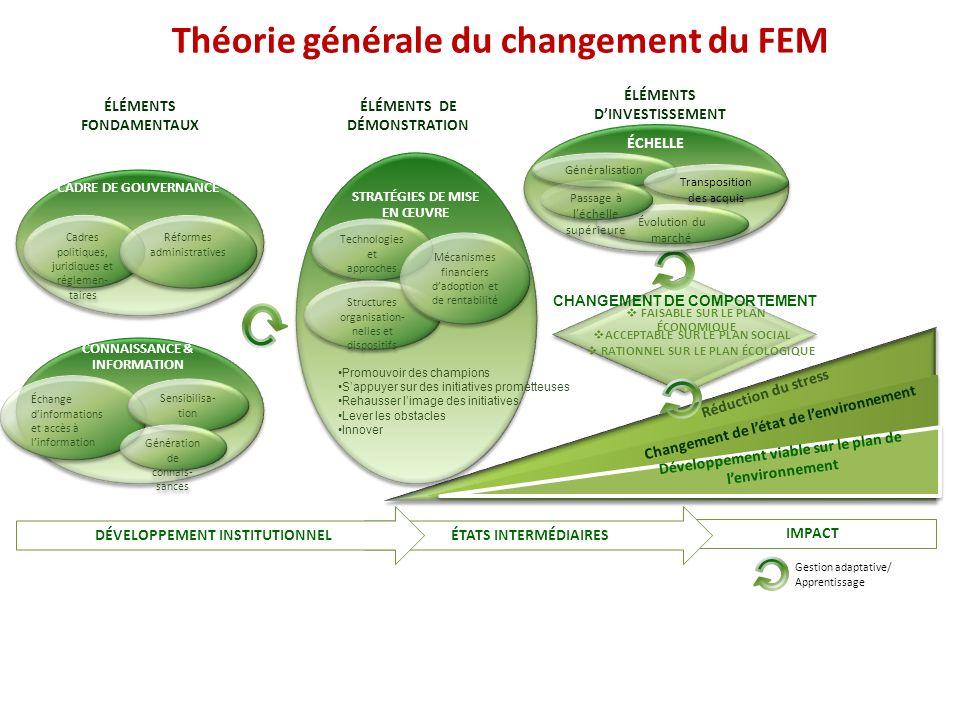 Théorie générale du changement du FEM
