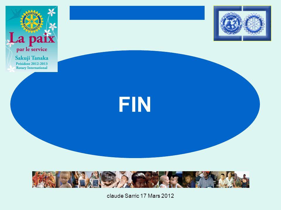 FIN claude Sarric 17 Mars 2012