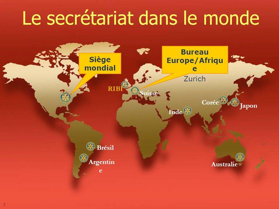 Bureau Europe/Afrique