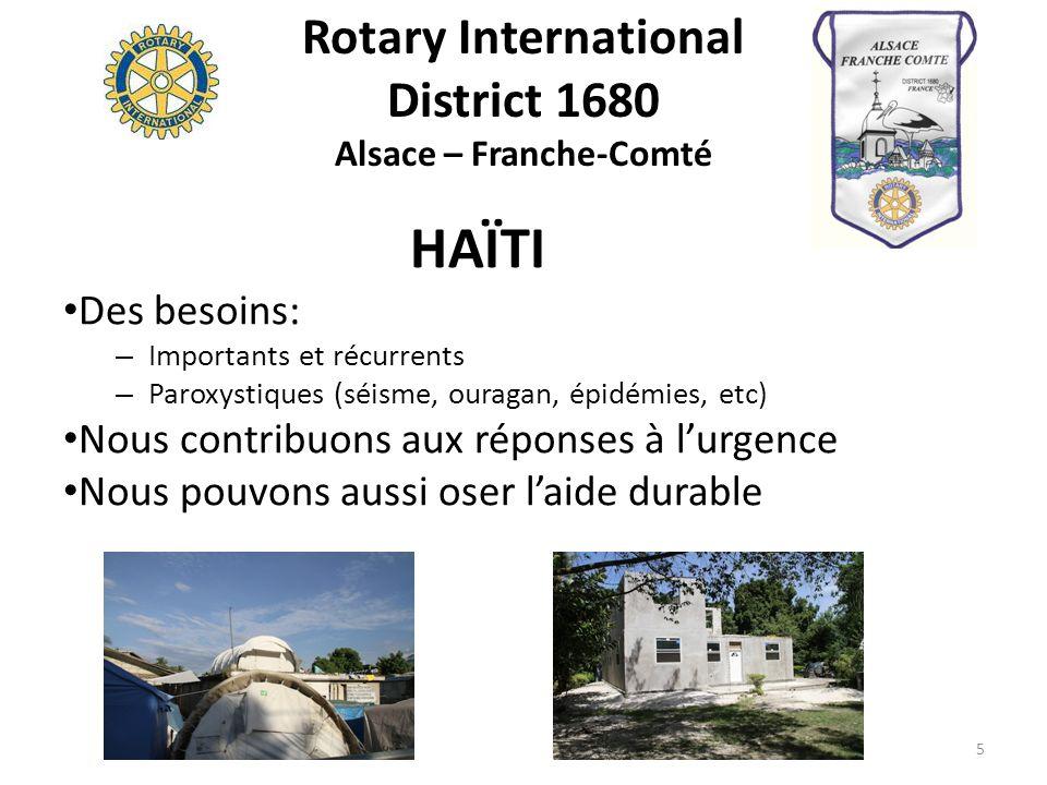Rotary International District 1680 Alsace – Franche-Comté