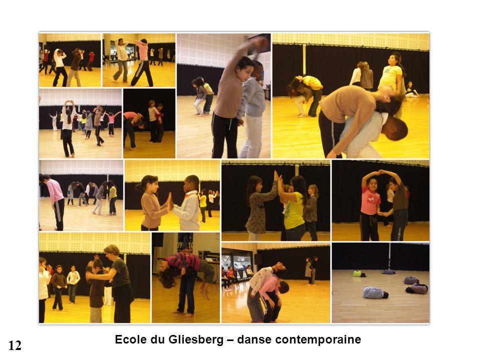 Ecole du Gliesberg – danse contemporaine