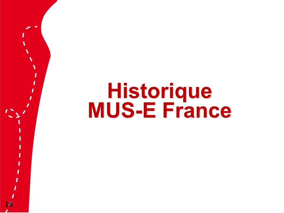 Historique MUS-E France