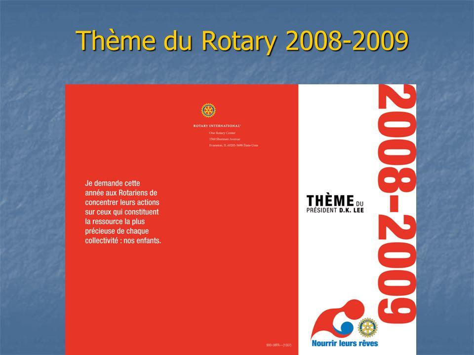 Thème du Rotary 2008-2009