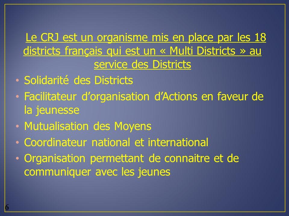 Solidarité des Districts