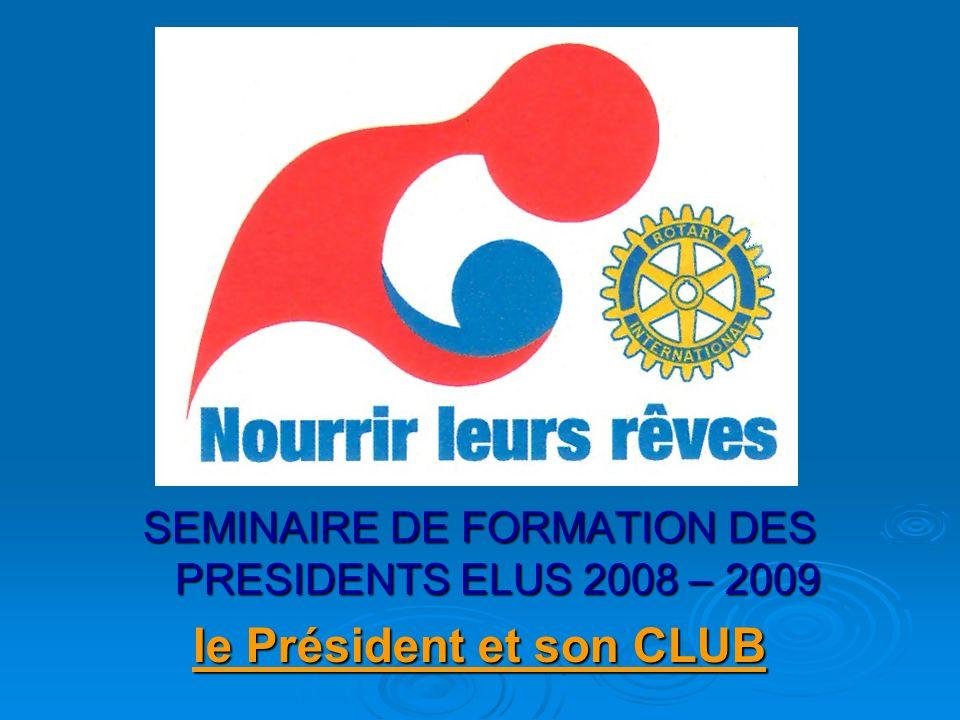 le Président et son CLUB