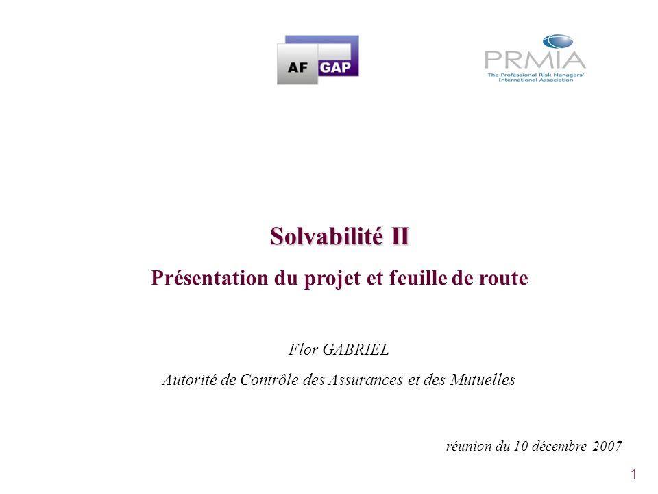Présentation du projet et feuille de route