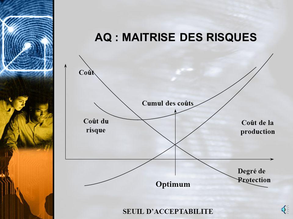 AQ : MAITRISE DES RISQUES