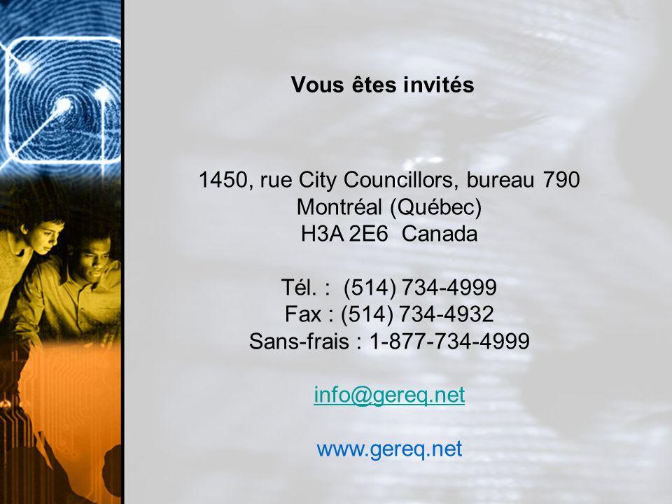 1450, rue City Councillors, bureau 790