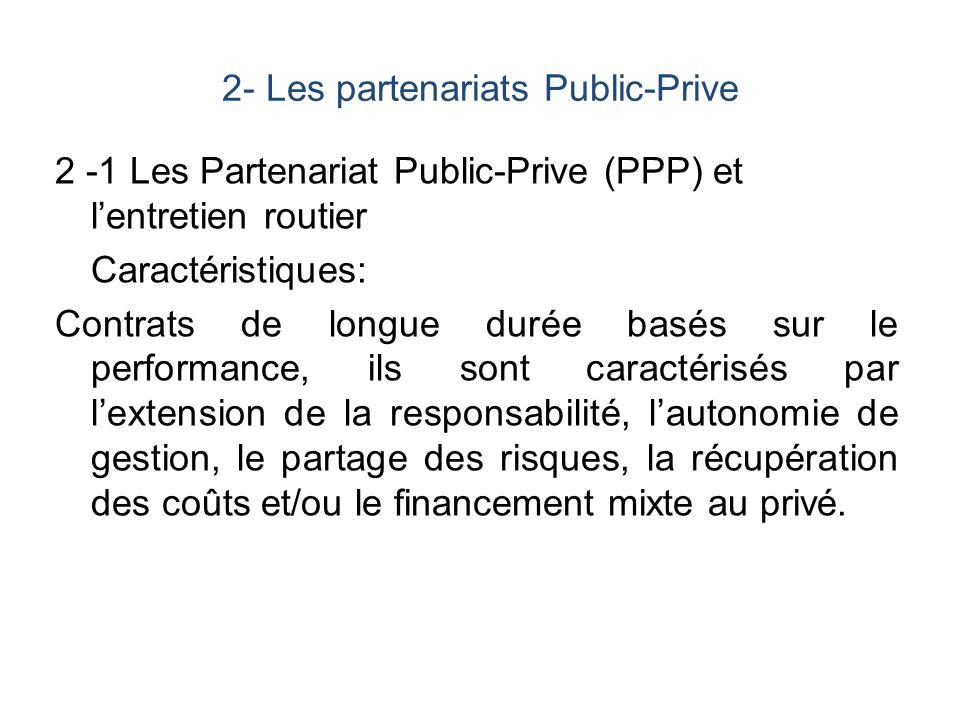 2- Les partenariats Public-Prive