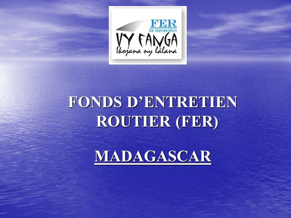 FONDS D'ENTRETIEN ROUTIER (FER)