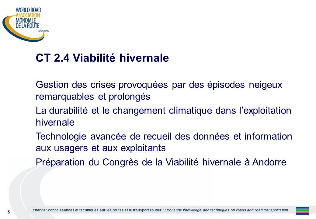 CT 2.4 Viabilité hivernale