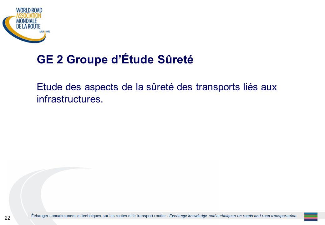 GE 2 Groupe d'Étude Sûreté