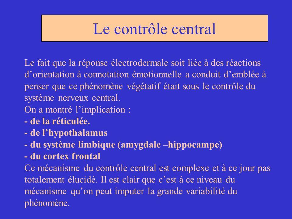 Le contrôle central