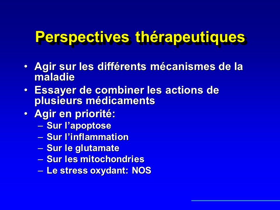 Perspectives thérapeutiques