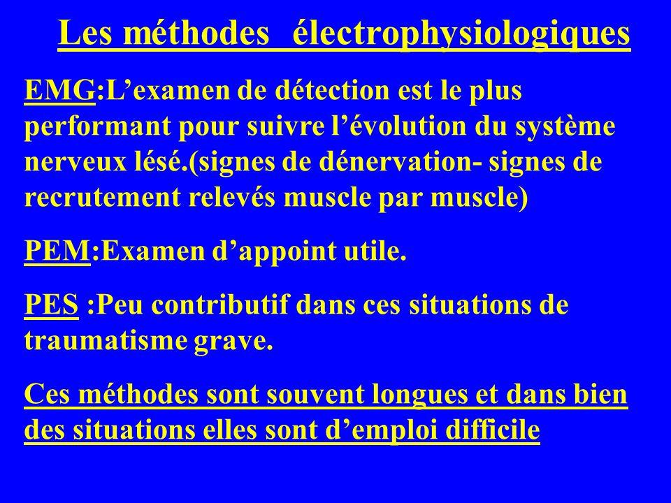Les méthodes électrophysiologiques