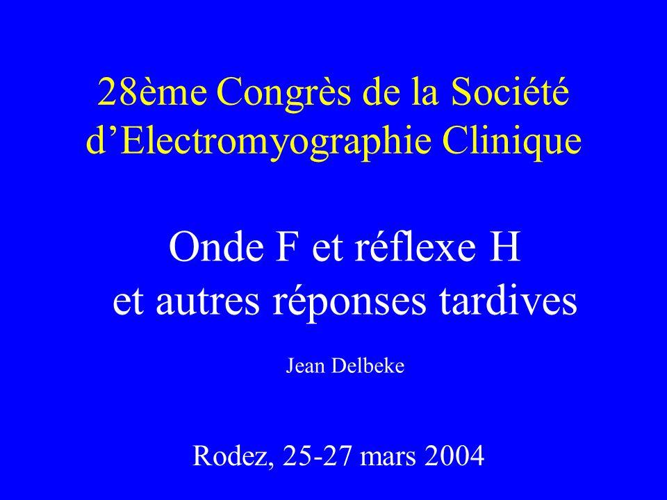28ème Congrès de la Société d'Electromyographie Clinique