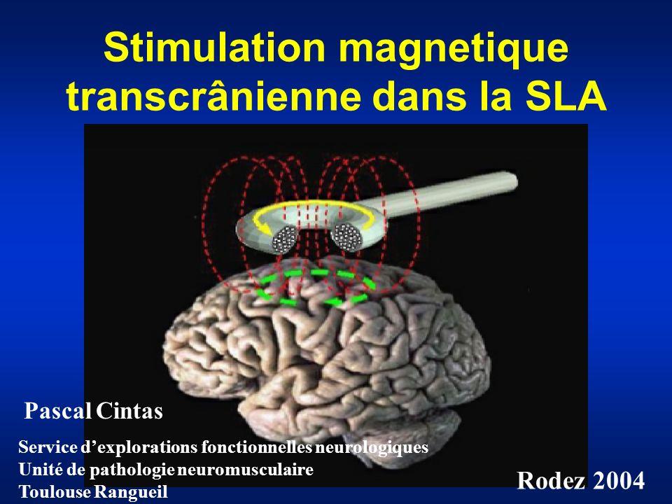 Stimulation magnetique transcrânienne dans la SLA