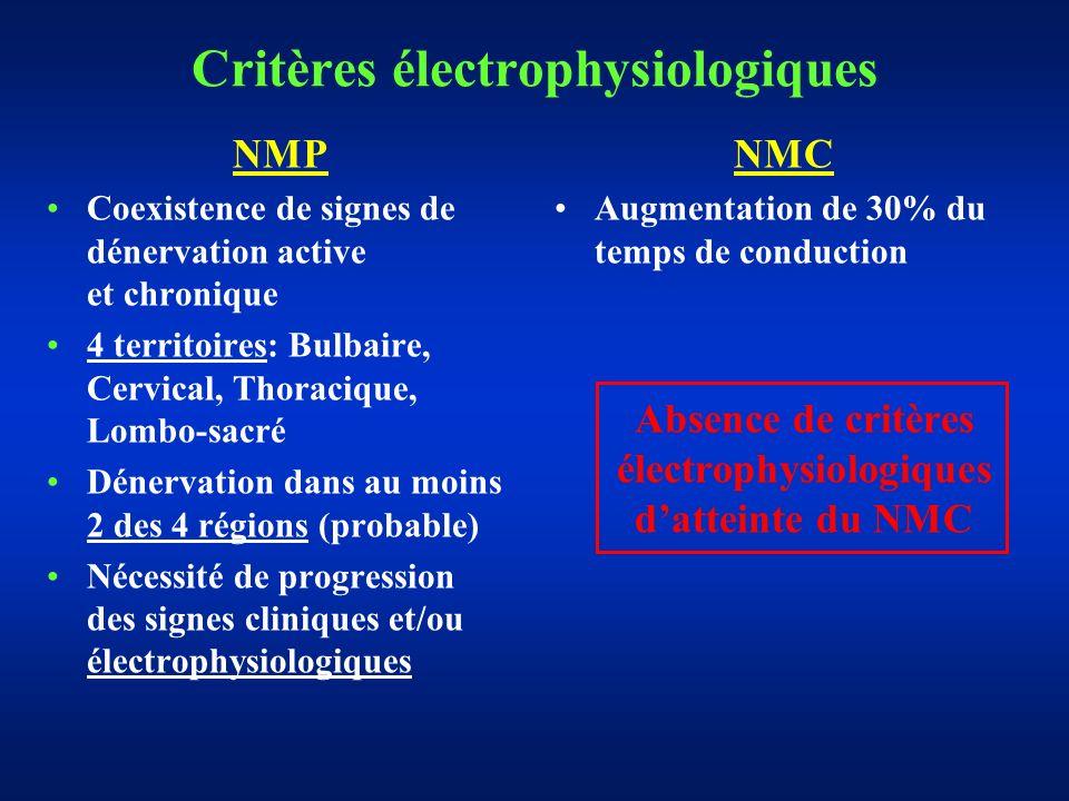 Critères électrophysiologiques