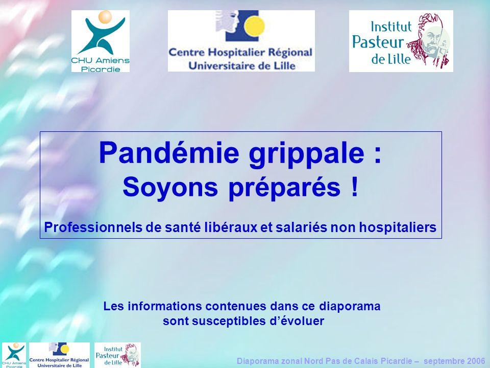 Pandémie grippale : Soyons préparés !