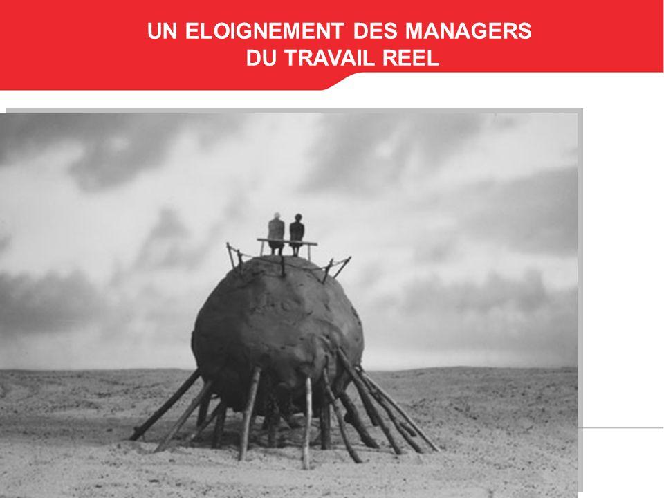 UN ELOIGNEMENT DES MANAGERS
