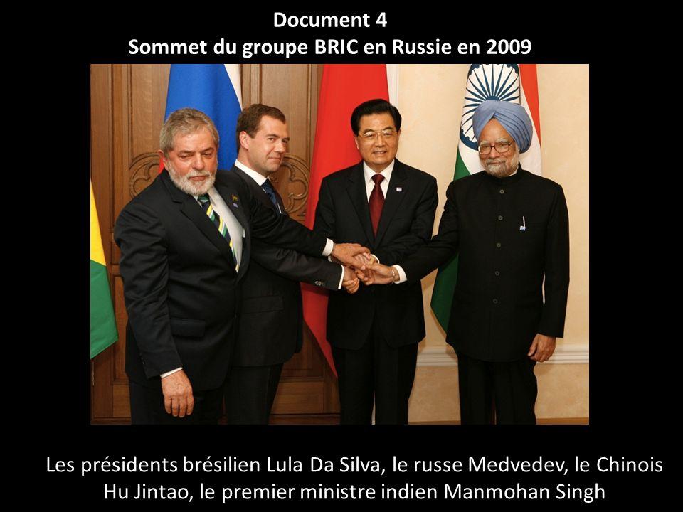 Sommet du groupe BRIC en Russie en 2009