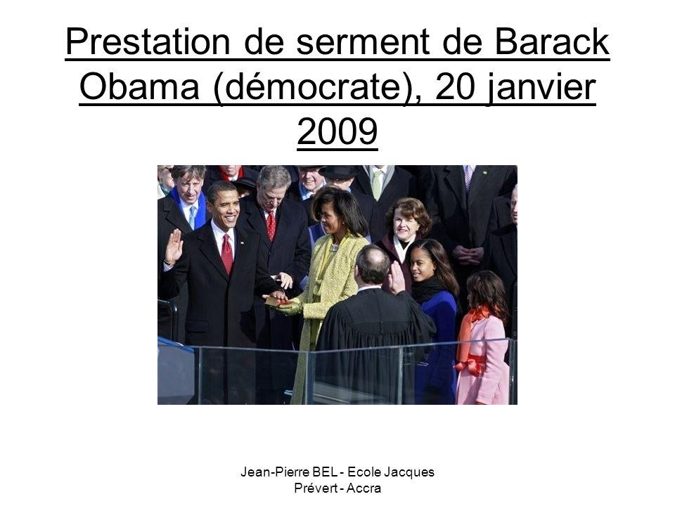 Prestation de serment de Barack Obama (démocrate), 20 janvier 2009