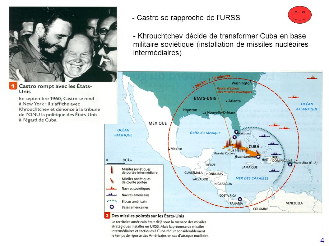 - Castro se rapproche de l URSS