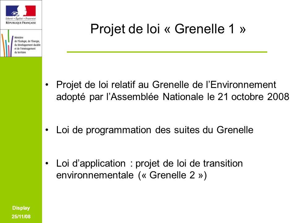 Projet de loi « Grenelle 1 »