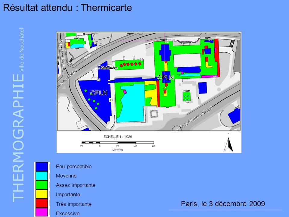 THERMOGRAPHIE Ville de Neuchâtel