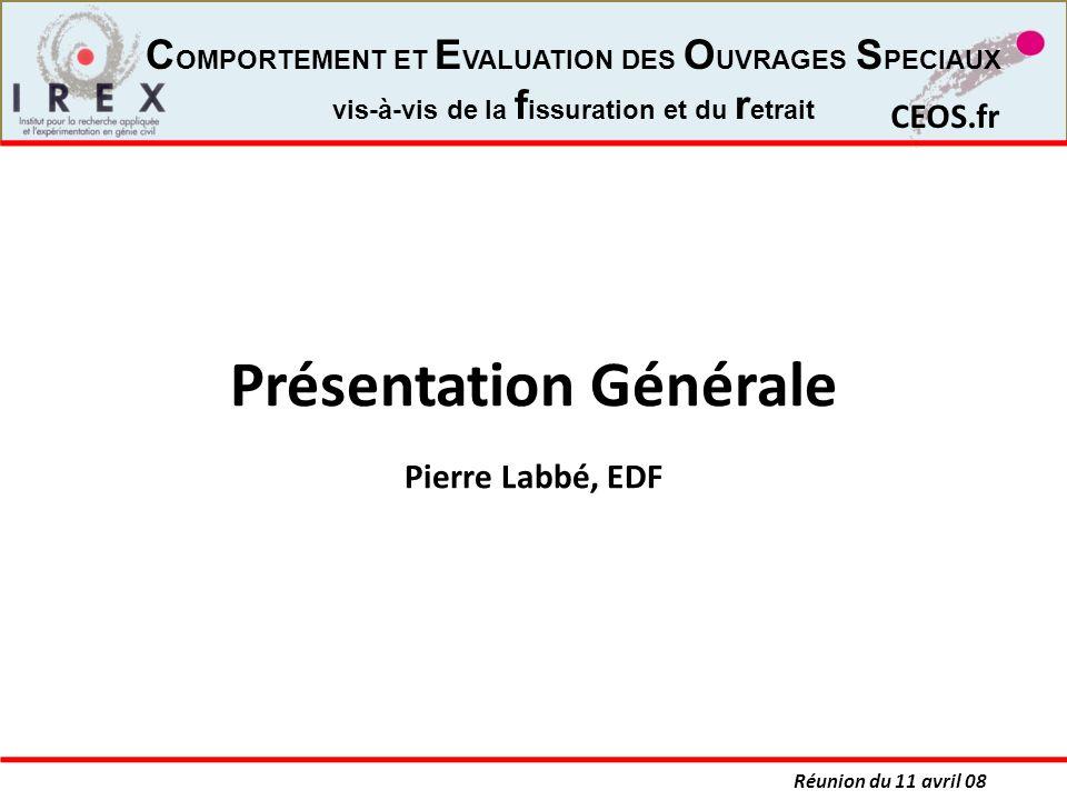 Présentation Générale Pierre Labbé, EDF