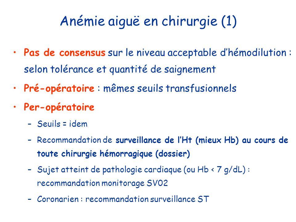 Anémie aiguë en chirurgie (1)