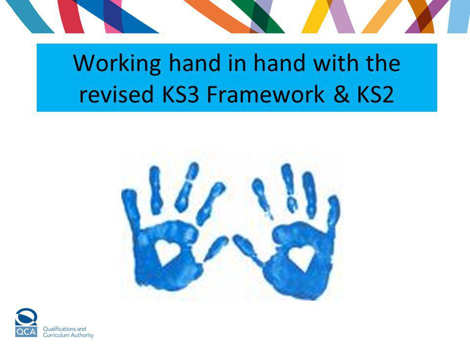 Working hand in hand with the revised KS3 Framework & KS2