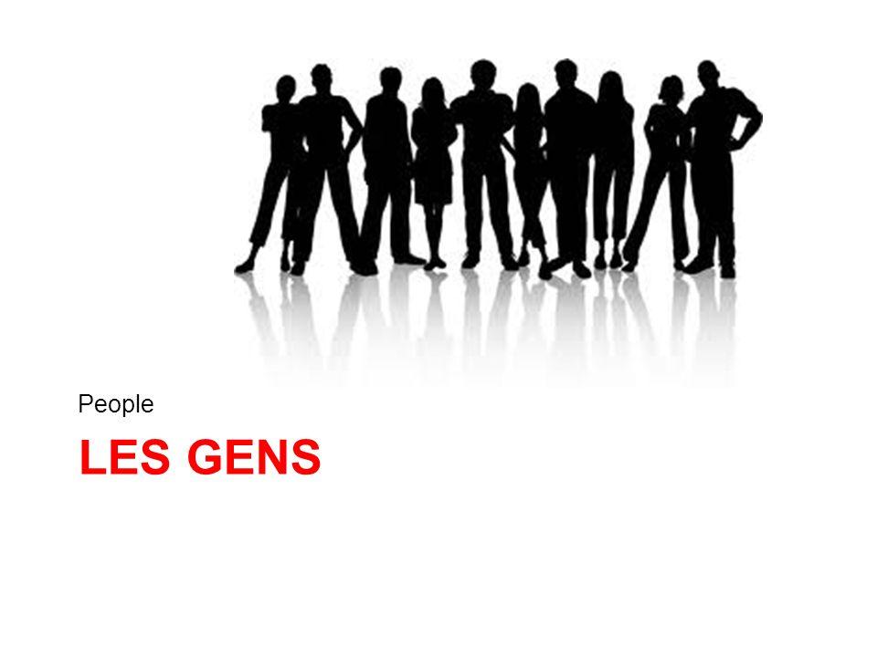 People Les gens