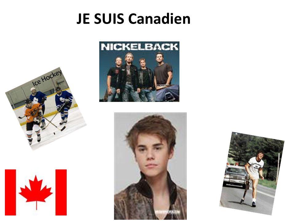 JE SUIS Canadien