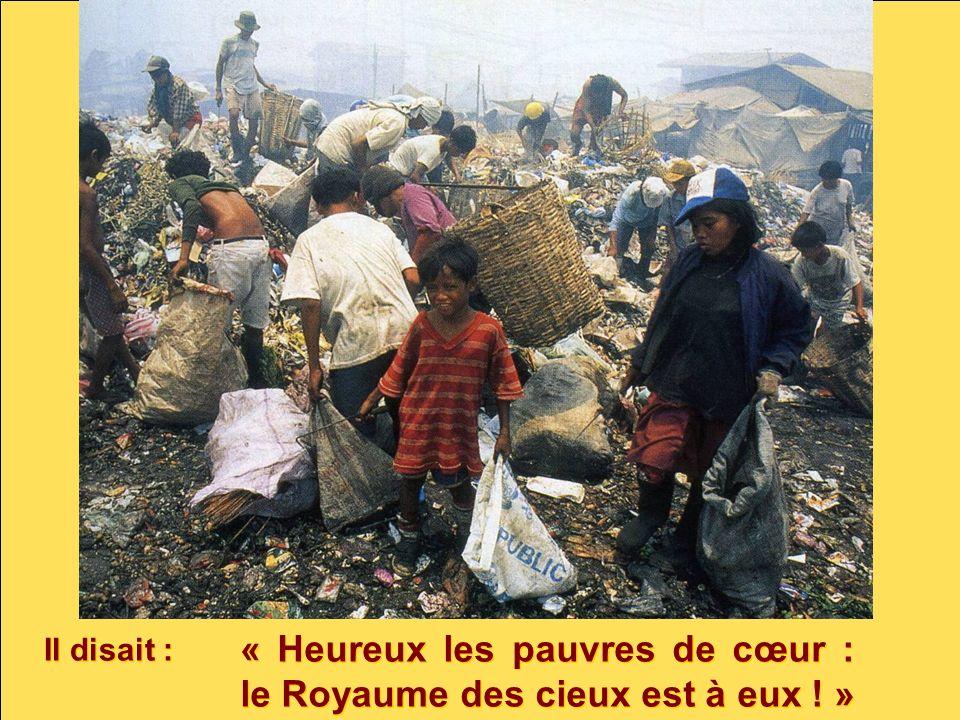 « Heureux les pauvres de cœur : le Royaume des cieux est à eux ! »