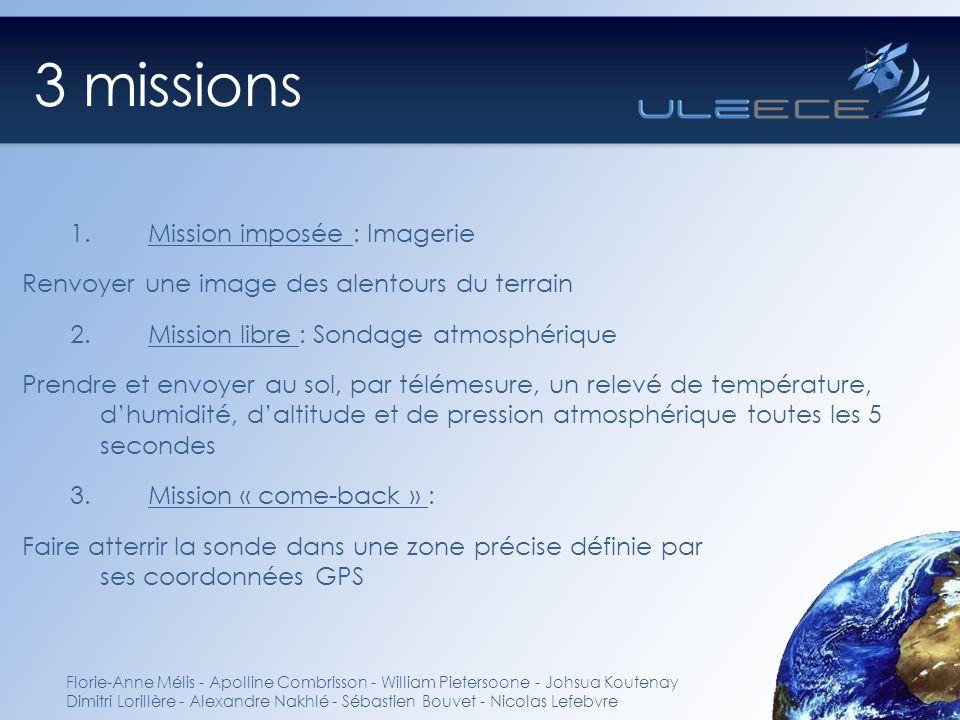 3 missions Mission imposée : Imagerie