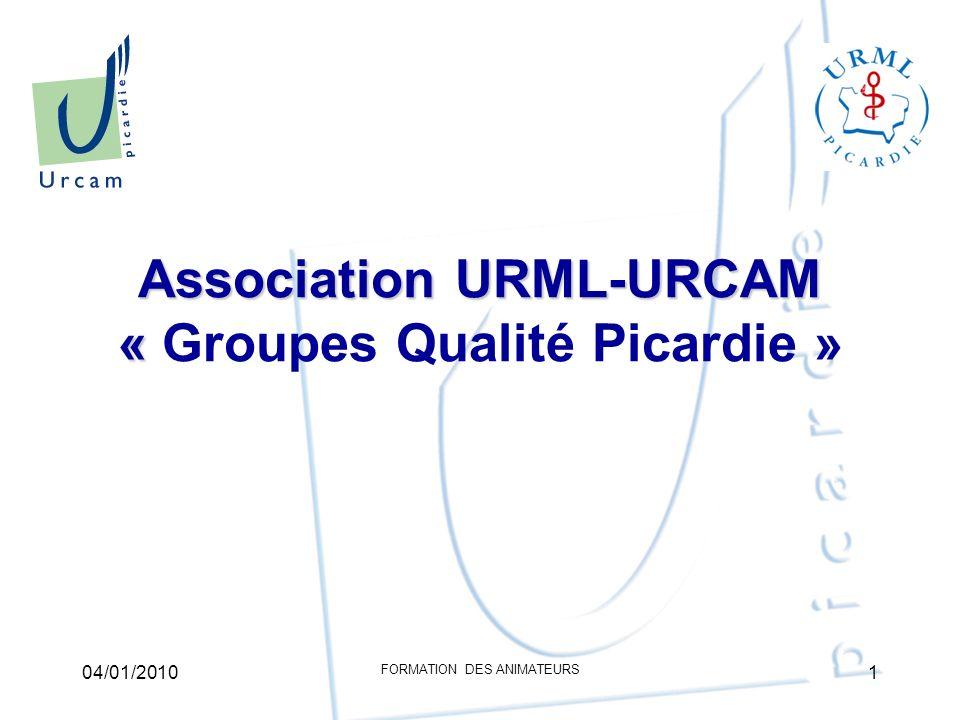Association URML-URCAM « Groupes Qualité Picardie »
