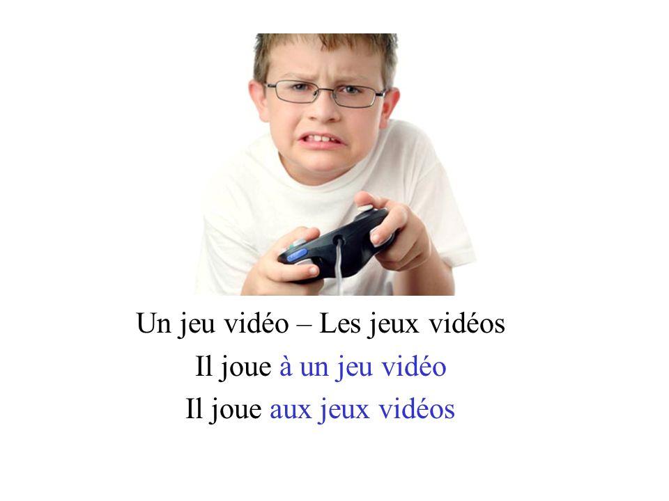 Un jeu vidéo – Les jeux vidéos