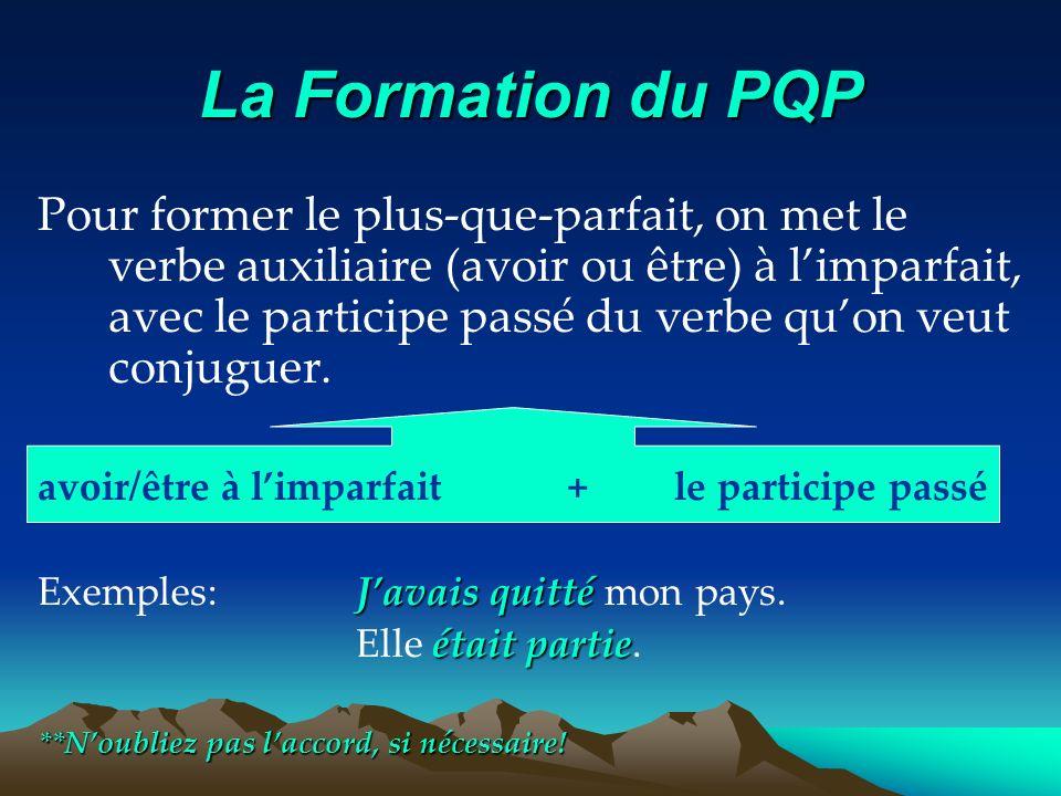 La Formation du PQP