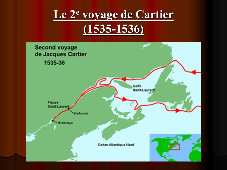 Le 2e voyage de Cartier (1535-1536)