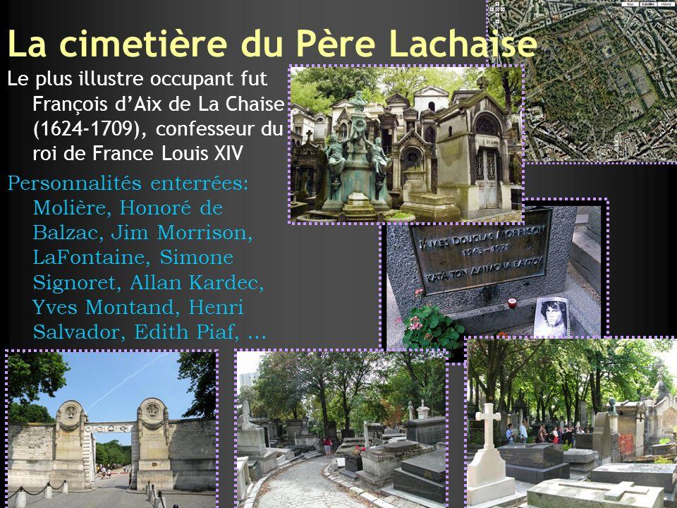 La cimetière du Père Lachaise