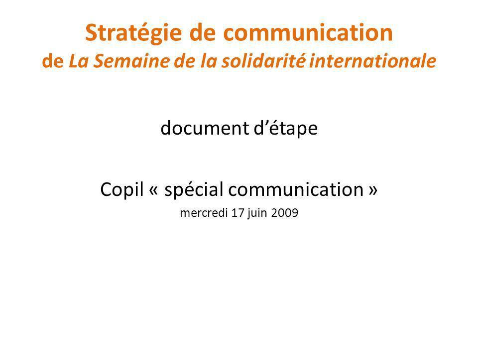 Copil « spécial communication »
